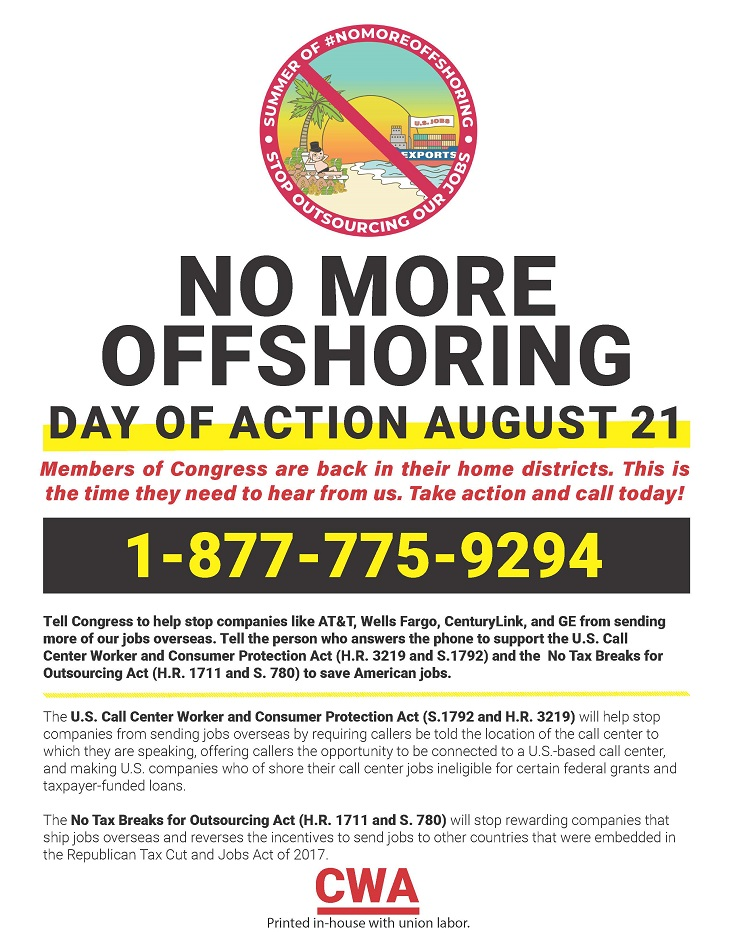 Offshoring Day of Action